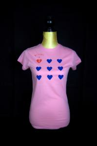 Michme Shirt Herz (girls)